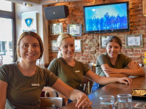 Vespa bar kafic posao-atmosfera